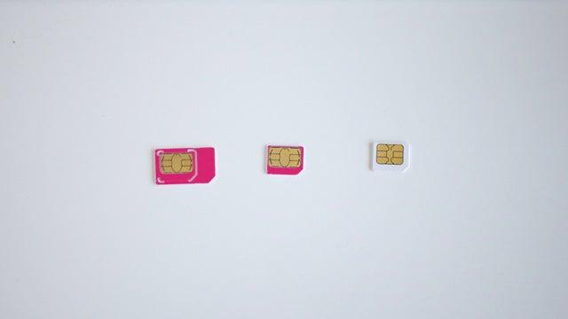 Apple Wants Teenier SIM Cards for Tinier Phones
