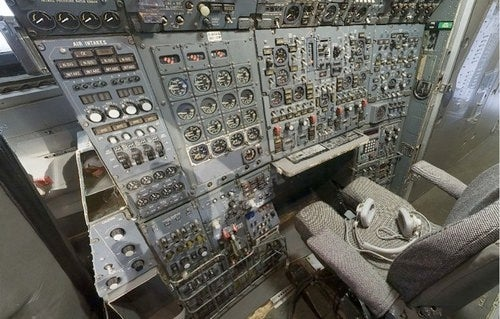 Explore every glorious, gauge-covered inch of a jet cockpit