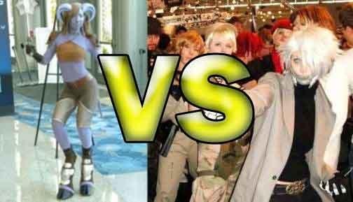 Cosplay Shodown: Gamescom Vs. BlizzCon