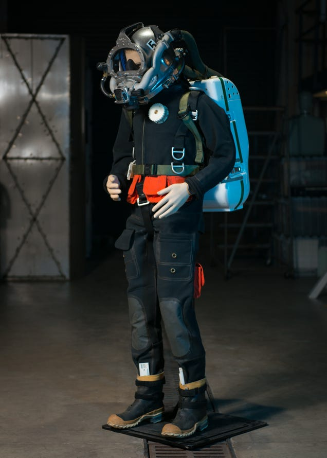 The Navy's New Diving Suit Is Straight Out of G.I. Joe