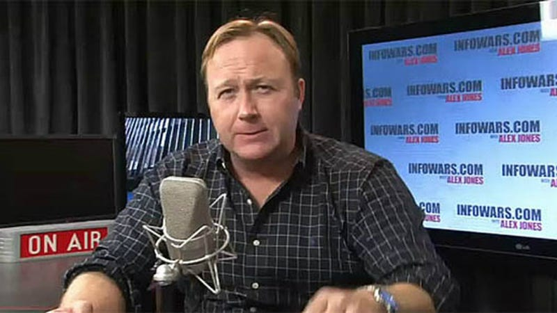 Alex Jones Is a Tornado Truther Because, Obviously