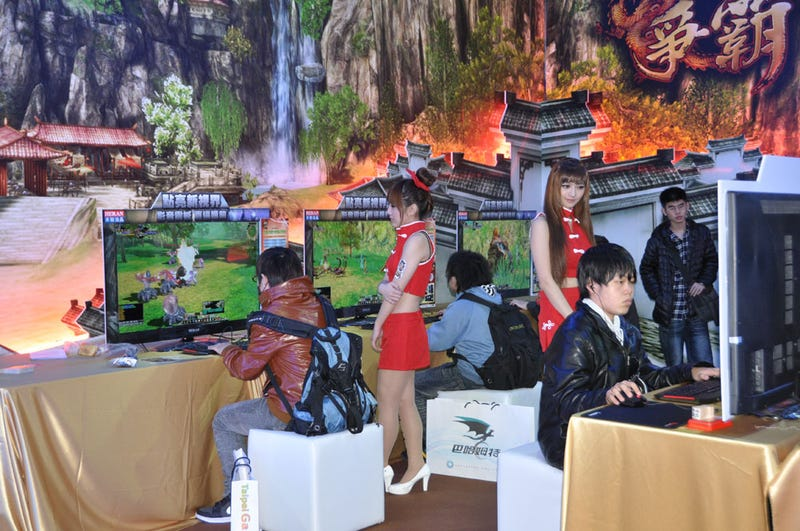 The Sights of Taiwan's Big Gaming Blowout