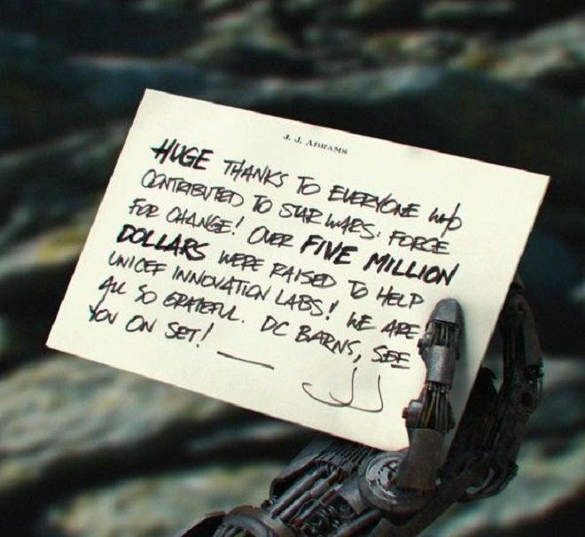 Star Wars VII Droid Teased