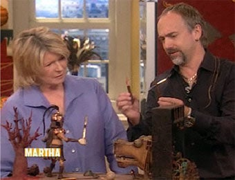 Richard Garriott Shows His Automata To Martha Stewart