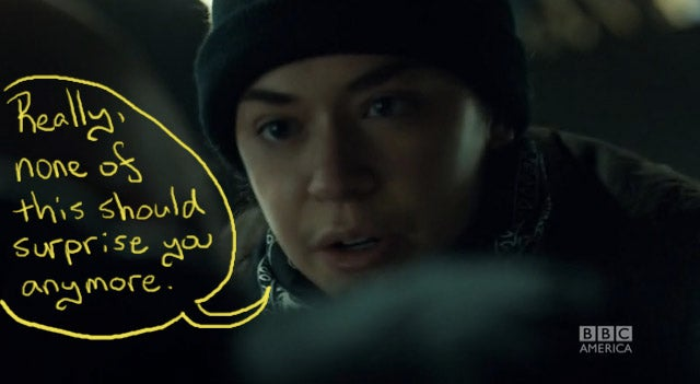 Okay, Now Orphan Black Is Just Showing Off