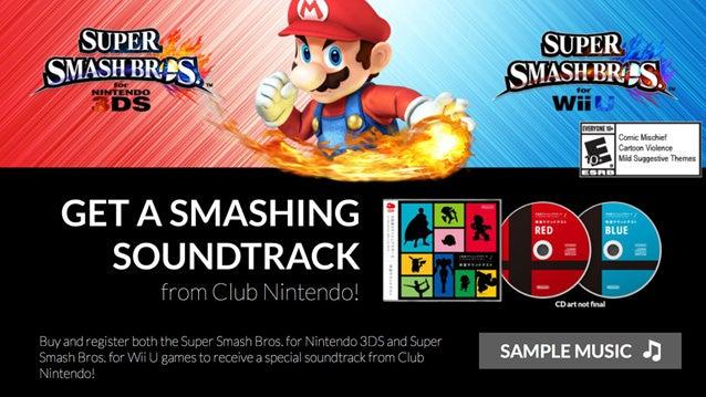 Super Smash Bros. Soundtrack for Registrants