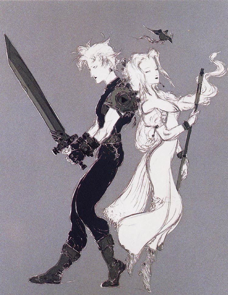 The Beautiful Final Fantasy Art of Yoshitaka Amano