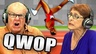 Old Folks Try <i>QWOP</i>, Are Also Utterly Confused
