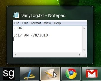 Use a Daily Log to Keep Yourself Focused on Productivity