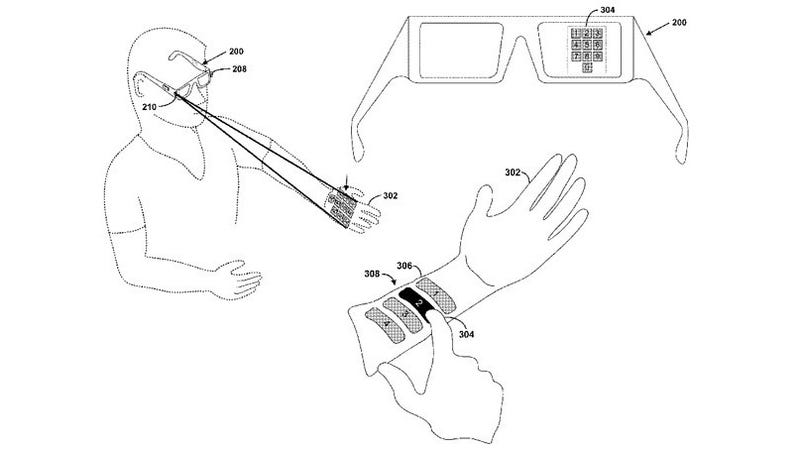Patent Hints at Laser-Controlled Google Glasses