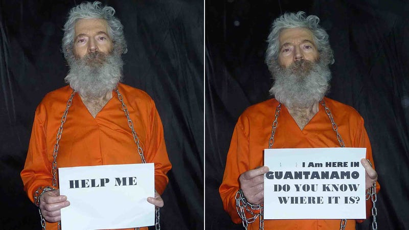 These Shocking 'Guantanamo' Photos of Kidnapped FBI Agent Robert Levinson Were Probably Taken in an Iranian Secret Prison
