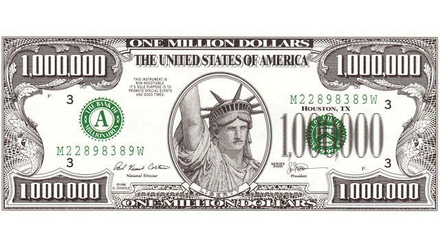 Foolproof! Man Somehow Caught Trying to Pay With Homemade Million Dollar Bill