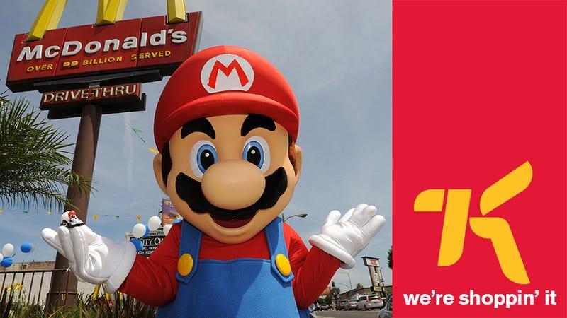 Kotaku 'Shop Contest: Mario At McDonald's