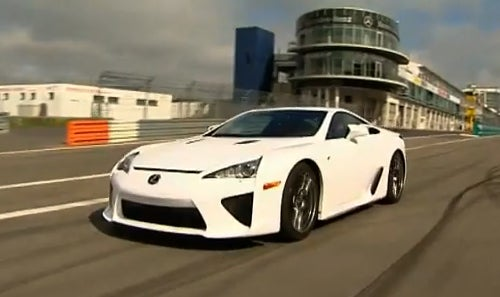 Lexus LFA Completely Uncovered