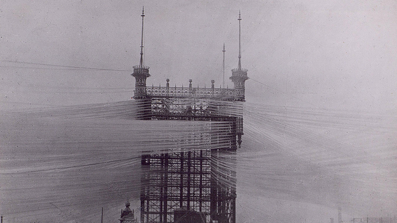 Why Aren't Telephone Towers This Beautiful Anymore?