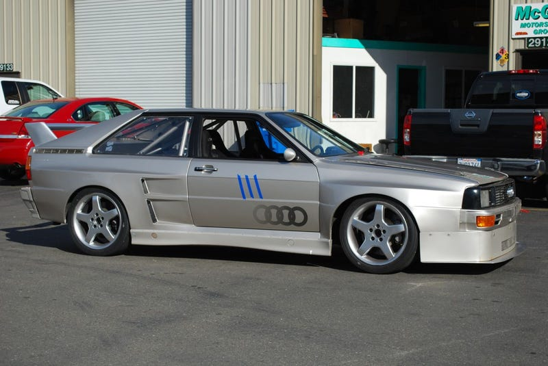 Automotive Worship Object Of The Year: Street-Legal 500-Horse Audi ur-Quattro