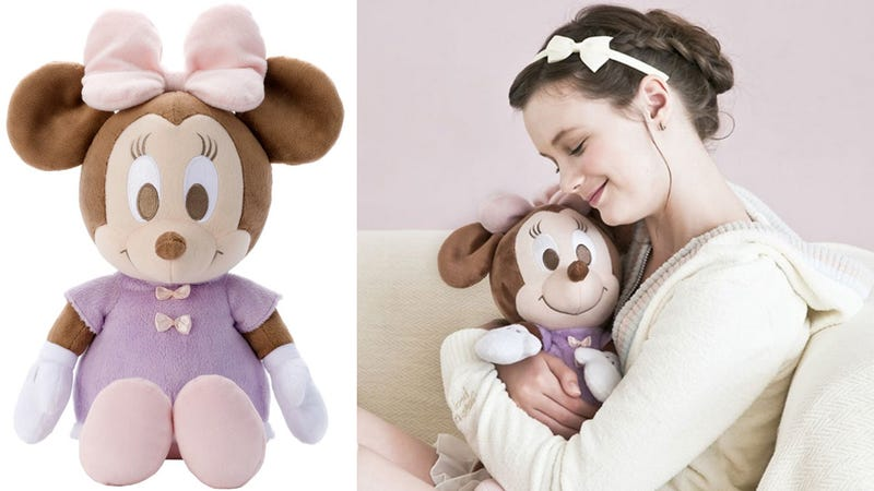 Calmly Breathing Minnie Doll Guarantees Kids a Good Night's Sleep