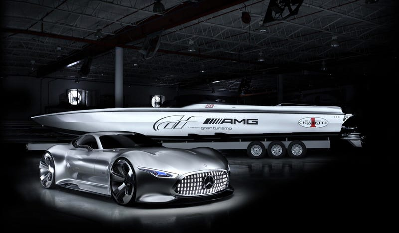 AMG Made A Boat To Go With Its Gran Turismo 6 Concept