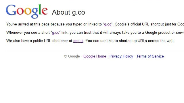 Google Introduces an Official URL Shortener for Google Pages Only