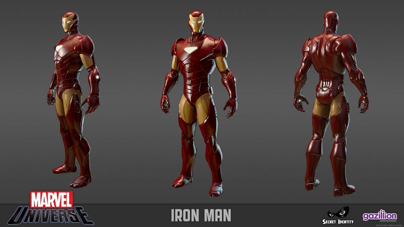 Several Avengers Assemble for the Marvel Universe MMO
