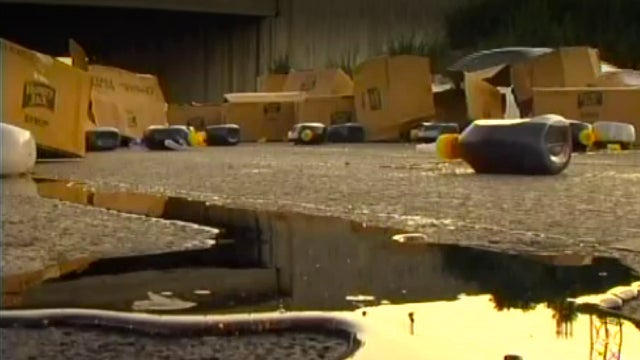 Semi Crash Spills Syrup All Over Buttermilk Pike