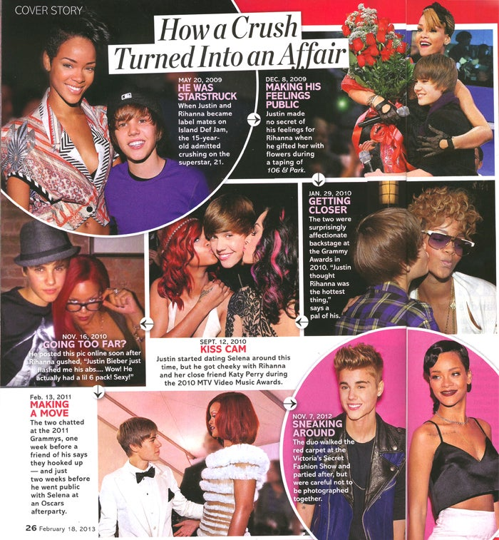 This Week in Tabloids: Rihanna Hooked Up With Justin Bieber While He Was Still a Minor