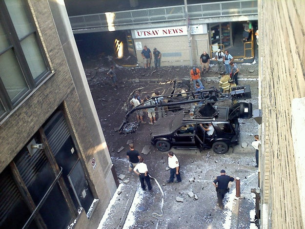 The Dark Knight Rises Pittsburgh Set Photos