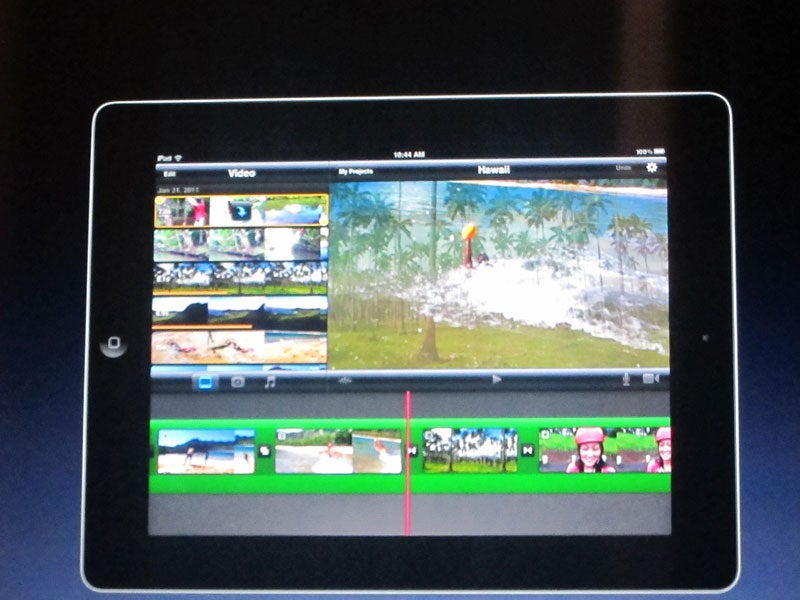 iMovie for iPad: Precision Editing and Multitrack Audio