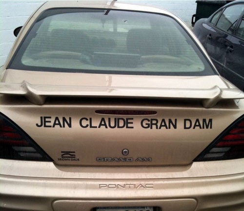 Behold, The Pontiac Jean-Claude Gran Dam