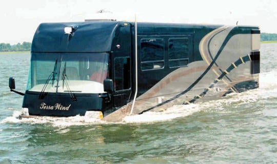 Amphibious RV is the Perfect Vehicle for, uh, Somebody, I'm Sure