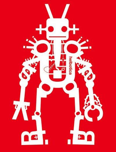 Font + Robot = Glee
