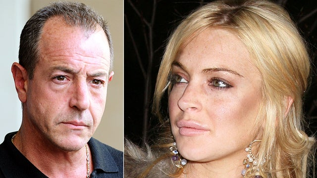 Lindsay Lohan Has a Peeping Tom: Her Father