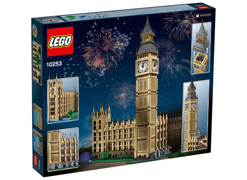 Lego's Next Architectural Masterpiece Is a Two-Feet-Tall Replica of Big Ben