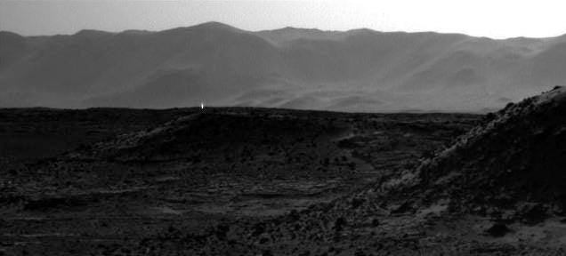 Hey look a weird bright light was spotted on Mars