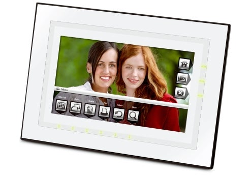 Kodak Quick Touch Digital Photo Frames Are Ticklish on the Side