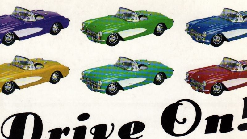 Drive On! Is the Greatest Book About Cars Ever Written