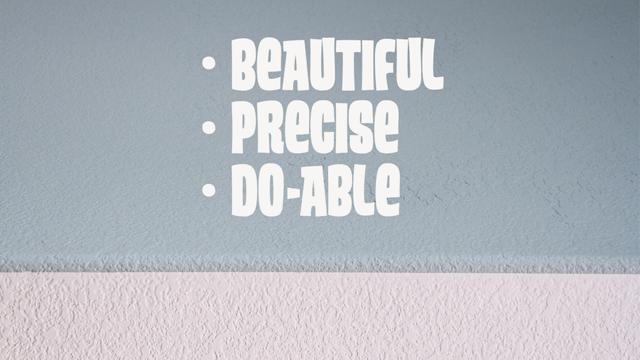 Use Caulk to Paint Straight Edges Like a Pro