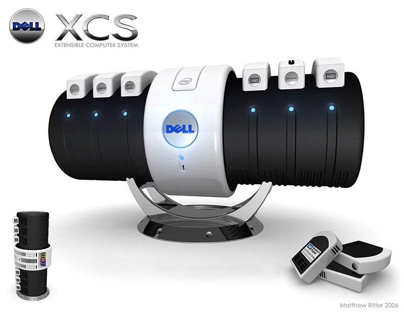Dell XCS: Snap-On PC Concept