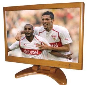 Widescreen Bamboo LCD TV