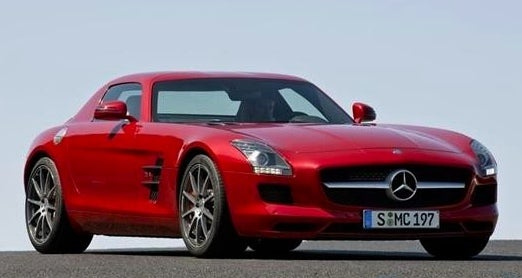 2010 Mercedes SLS AMG: First Photos, Details!