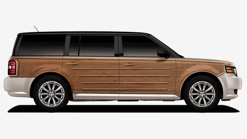 How Ten Modern Cars Would Look With Wood Panelling