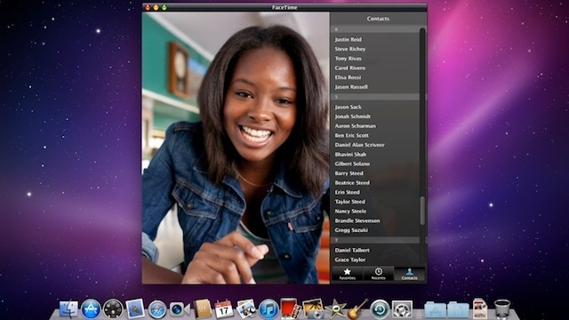 FaceTime 1.0 Available for Mac for 99 Cents