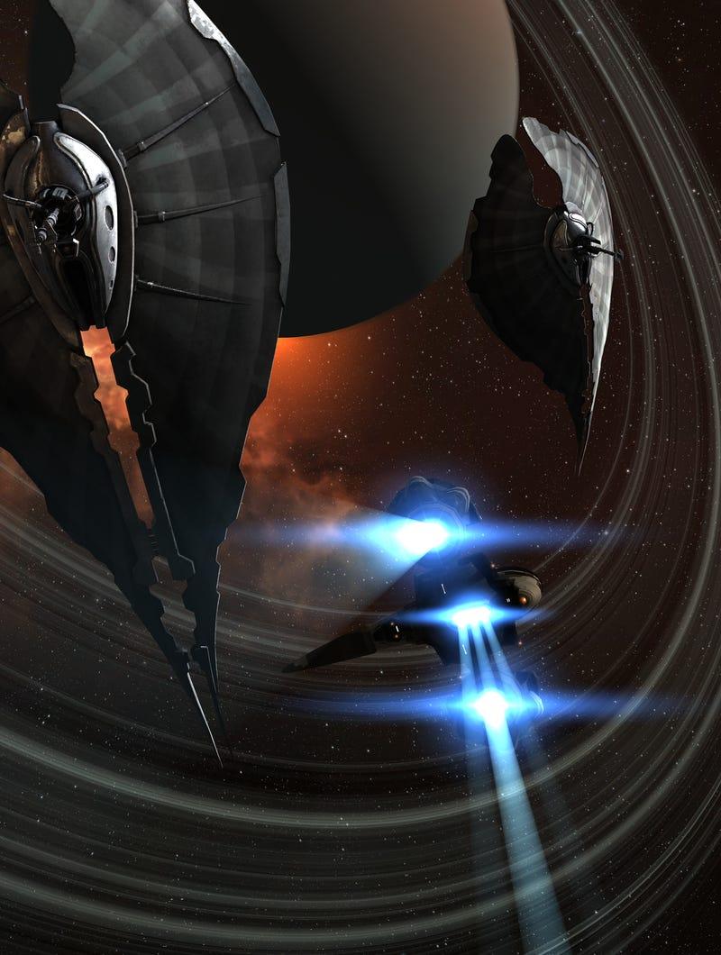The Splendor Of Deep Space Starships