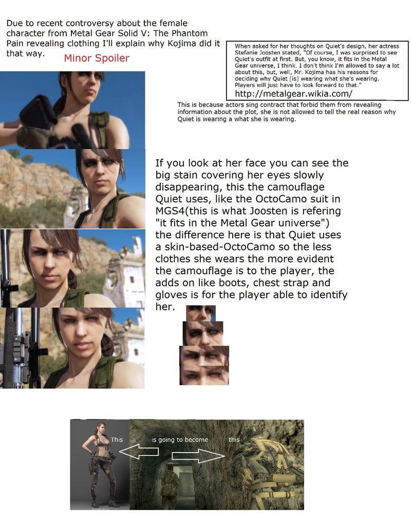 Three Theories As To Why Metal Gear Solid V's Sniper Is So, Um, Sexy