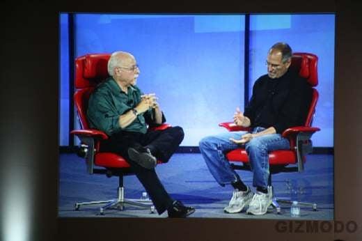 Steve Jobs at D Now