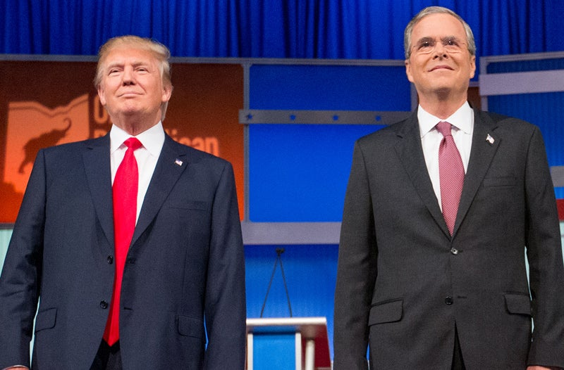 Nostalgic Donald Trump Can't Stop Burning Jeb Bush