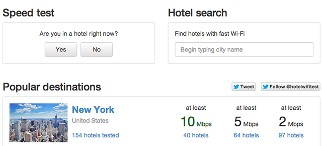 Never Stay In a Hotel With Crappy Wi-Fi Thanks to This Useful Site