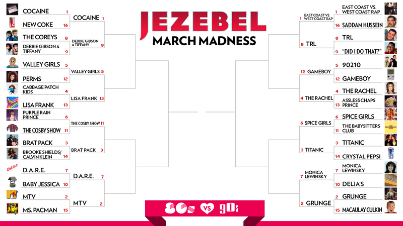 March Madness Sweet Sixteen Revealed: Tupac and Biggie Got That China White