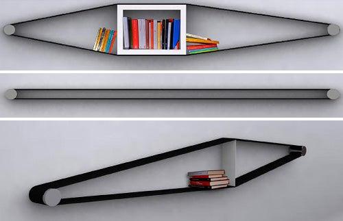 Elastico: Bookshelf Meets Elastic Band, Has Useful Offspring