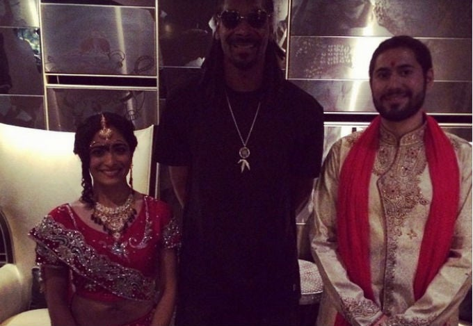 Snoop Dogg Likes to Surprise Strangers at Their Wedding